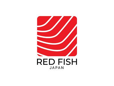Logo design for Red Fish logo logodesign brand fish