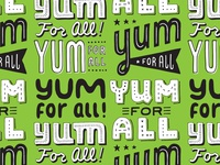 Yum For All Pattern