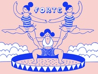 Filles Forte Pyramid