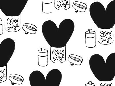 Fantastical Gifts - Oversize Heart ipadproart gift heart hand drawn illustration