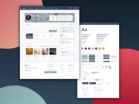 Dashboard UI + Design System