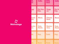 Mainstage App
