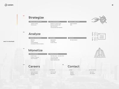 Menu Structure structure menu strategy analyze analytics business web design ux ui