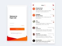 Paper Mail concept app