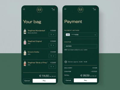 #77 Gin Payment 💸 | 99+ Days in the Lab typography price coupon payments basket bag challenge mobile checkout green payment gin