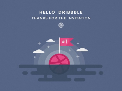 Thanks for invitation | Hello to the dribbble community welcome first shoot hello to the community first draft dribbble invitation