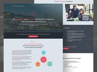 INC | Innovation Network Cologne Screendesign