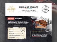 Belloteria | Jamón de Bellota Infographic
