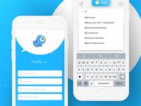 Tweety 2.0 | Login + Search