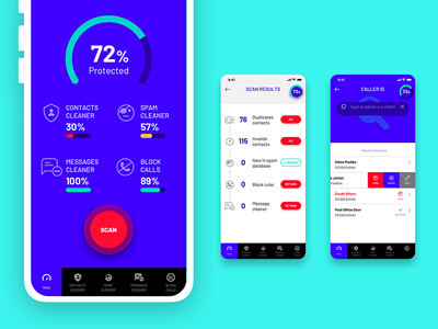 Phone Shield app ui ux app