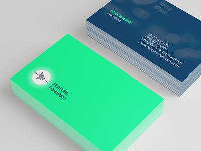 Feature Forward Bcards identity branding logo