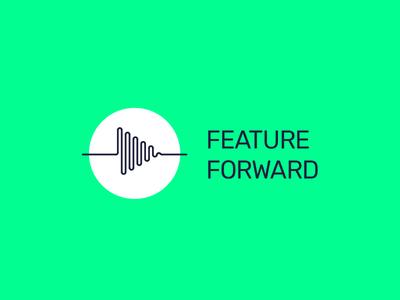 Feature Forward Logo identity branding logo