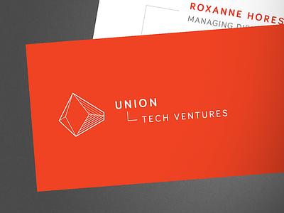 Union Tech Ventures identity branding logo
