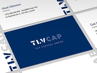 TLV Capital logo identity