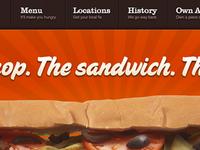 The Sandwich.