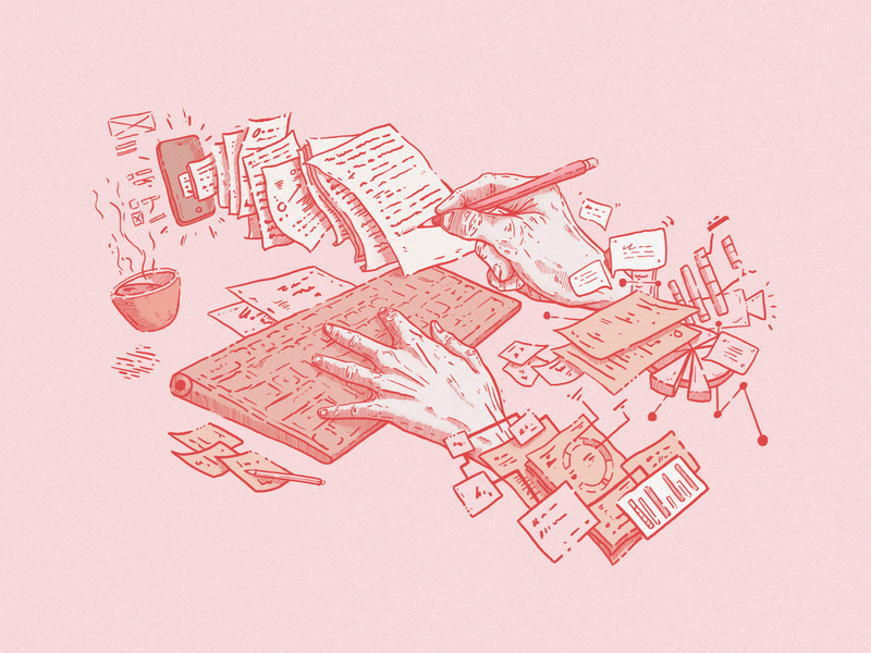 AMA: How do you go from research to design? illo illustration blog post blog ux research research