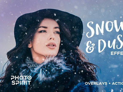 Snow & Dust Effect Photoshop realistic overlay jpg noise visual dust download cc generator background effect actions textures collection photography photo effects photoshop overlays snow