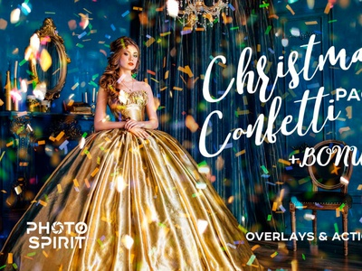 Confetti Overlay Effect In Photoshop photos textures collection magic star sparkling falling effects actions golden dust lights images christmas download gold photoshop effect overlays confetti