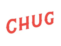 Train Chug Lettering