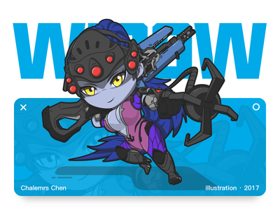 Widowmaker widowmaker overwatch illustration