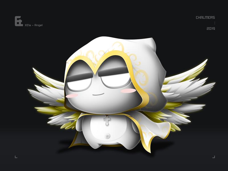 XD's Angel illustration