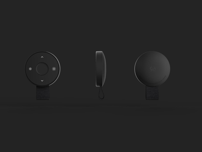Smart Key industrial smart home smart remote control remote key personal ambient controller control workspace geometric office minimal geometry space white design black dribbble