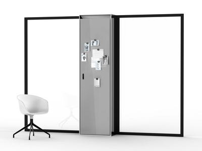 Air Treatment Module 03 modeling industrial 3d environment ambient air workstation workspace whiteboard board functional office minimal space white black design dribbble