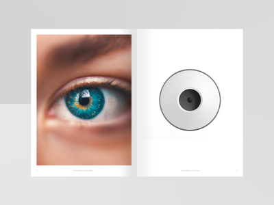 Concept Book monitoring data visualization data sensor smart building eye concept book workspace industrial geometric office geometry space minimal white black design dribbble