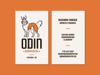 Odin Business Cards