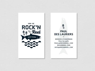 Rock'n Reel Business Cards