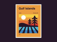 Gulf Island Sunsets