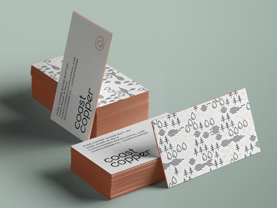 Coast Copper Business Cards
