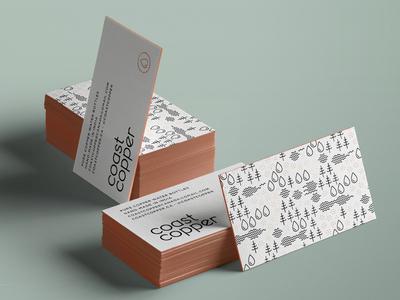 Coast Copper Business Cards