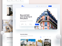 Home page exploration - Real Estate