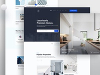 Real Estate- Home page exploration