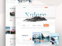 Xplore - Travel agency landing page