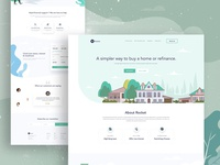 Home loan service landing page