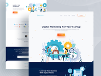 Digital Marketing Agency Landing page