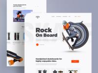 Skateboard webstore