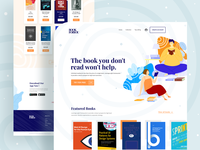 Book Store - Landing page