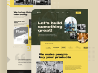 Digital agency landing page 2020 trend digital marketing agency marketing agency landing  page app design landing page trendy design homepage ui ux clean ui minimal agency mockups creative dailyui visual design ios web design product design