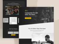 Zeno Elite - Live ! 2020 trend digital marketing agency marketing agency landing  page app design landing page trendy design homepage ui ux clean ui minimal agency mockups creative dailyui visual design ios web design product design