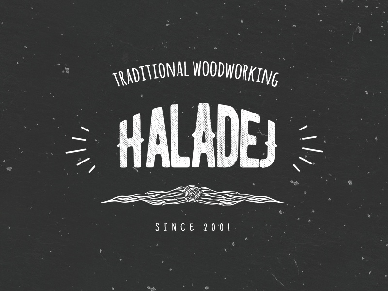 Woodworking Business Logo By Stanley Haladej Dribbble Dribbble