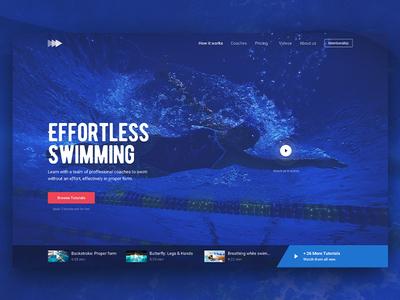 Hero Image - Swimming (freebie)