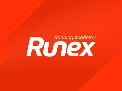 The running academy logo road orange sport running academy logotype path run logo