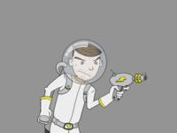 Spacedude visor