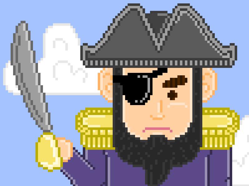 Pixel Pirate pirate pixel