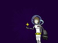 Spacegirl crop