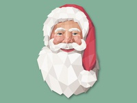 Polygonal Santa Claus