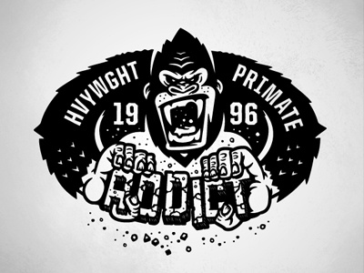 PRIMATE streetwear design illustration